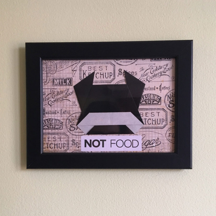 "Cow ""Not Food"" Origami"