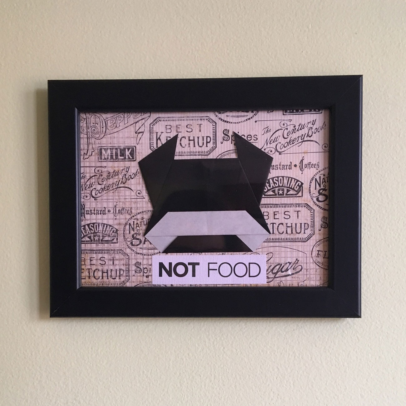 """Cow """"Not Food"""" Origami"""