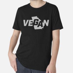 Vegan Georgia T-Shirt - Youth, black